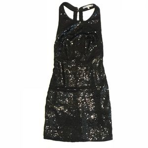 Saved by the Dress (Cecico) black sequin mini